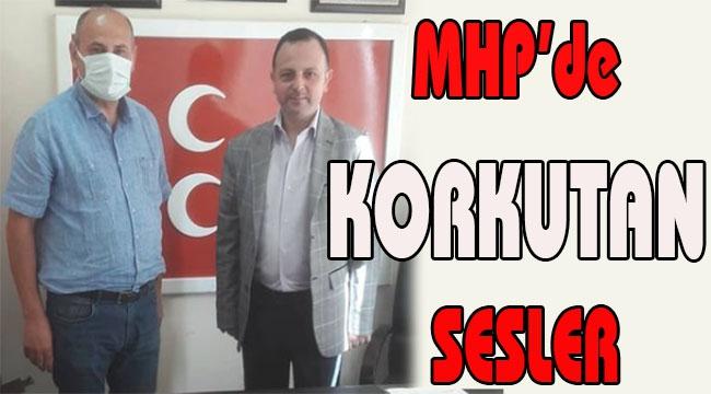 MHP'de KORKUTAN SESLER