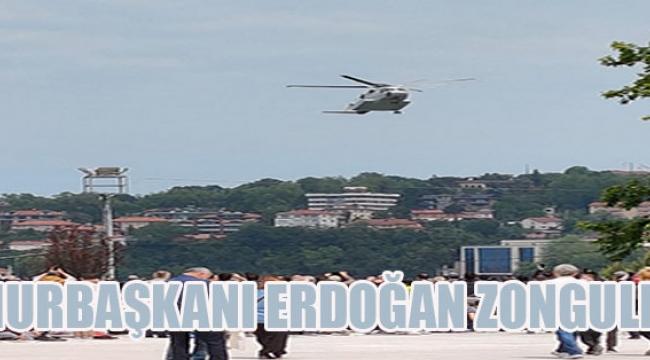 Cumhurbaşkanı Erdoğan Zonguldak'ta