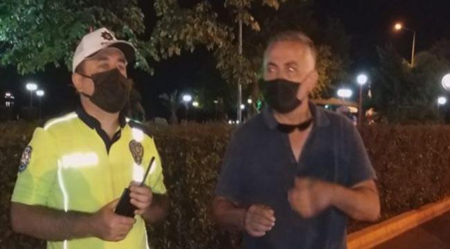 Polis Memuruna Hakaret Etti